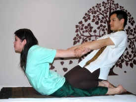 Thai Massage Position