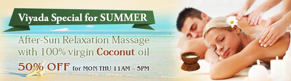 Viyada Coconut Oil Massage